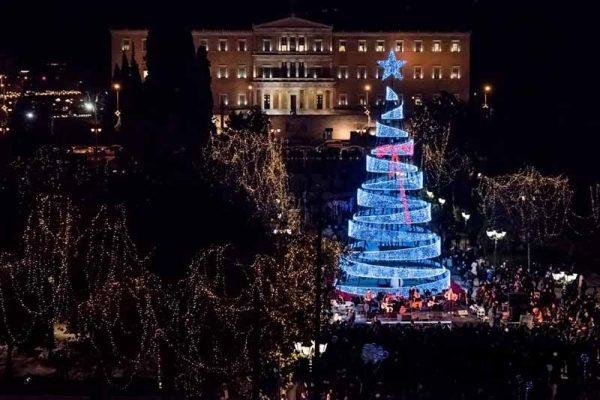 Χριστουγεννιάτικη Αθήνα 2018